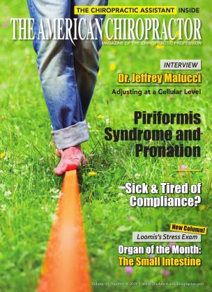 Cover for the April 2019 issue