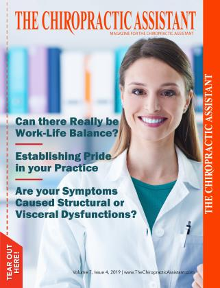 Cover for the AUGUST 2019 issue
