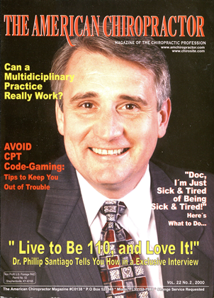 Cover for the March/April 2000 issue