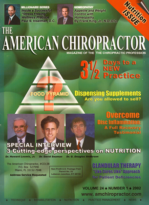Cover for the January/February 2002 issue