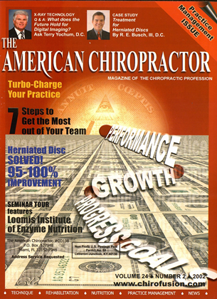 Cover for the March/April 2002 issue