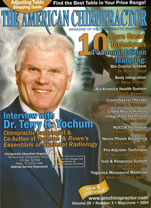 Cover for the May/June  2004 issue