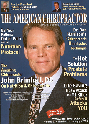 Cover for the January 2005 issue
