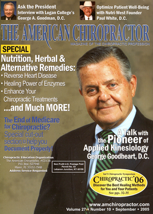 Cover for the September 2005 issue