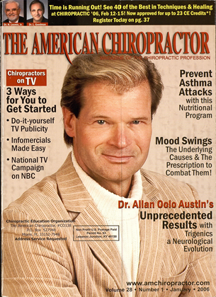 Cover for the January 2006 issue