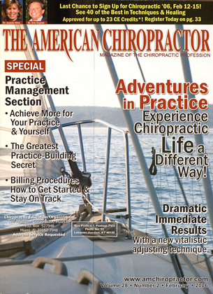 Cover for the February 2006 issue