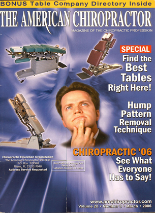 Cover for the March 2006 issue