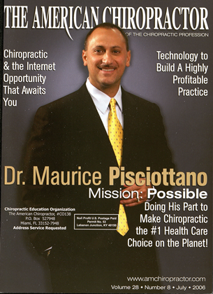 Cover for the July 2006 issue