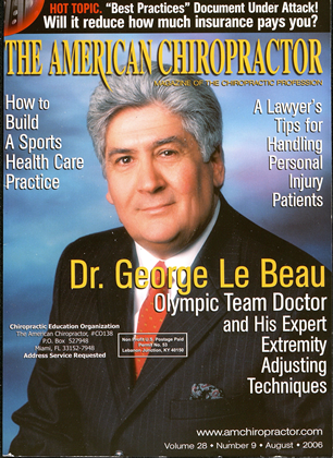Cover for the August/September 2006 issue
