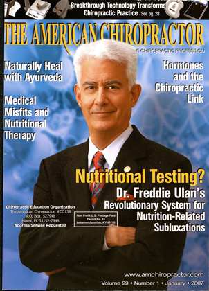 Cover for the January 2007 issue