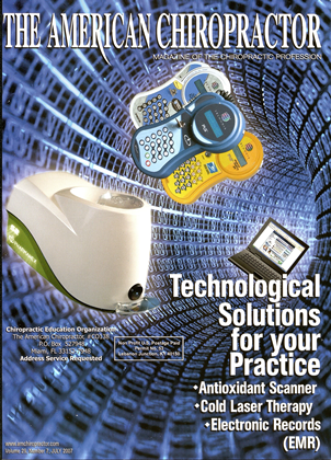Cover for the July/August 2007 issue