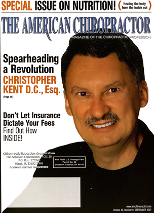 Cover for the September 2007 issue