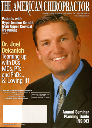 Cover for the October 2007 issue