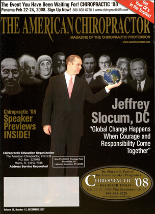 Cover for the December 2007 issue