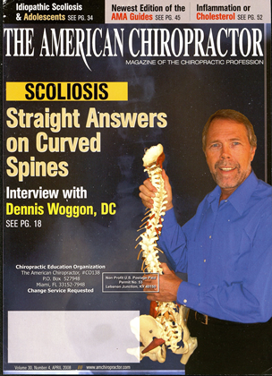 Cover for the April 2008 issue