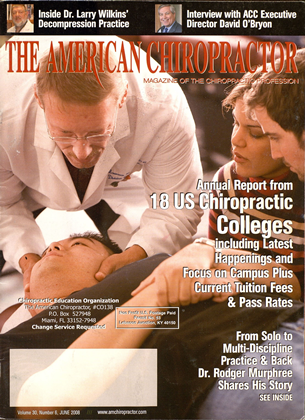 Cover for the June 2008 issue