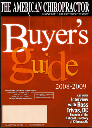 Cover for the Buyers Guide 2008 issue