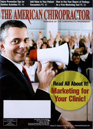 Cover for the September 2009 issue
