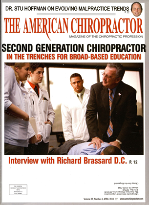 Cover for the April 2010 issue