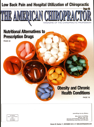 Cover for the November 2010 issue