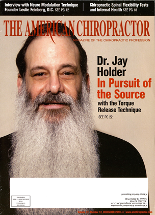 Cover for the December 2010 issue