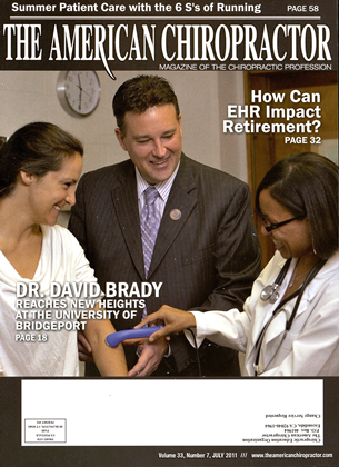 Cover for the July 2011 issue