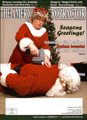 Cover for the December 2011 issue