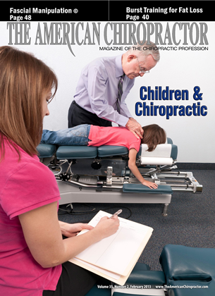 Cover for the February 2013 issue