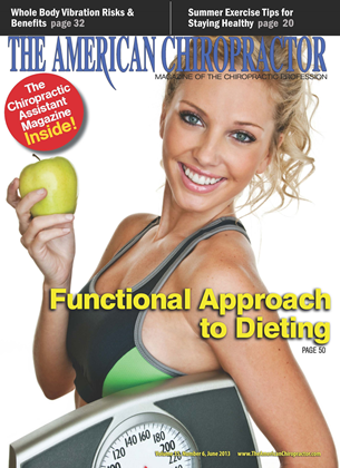 Cover for the June 2013 issue
