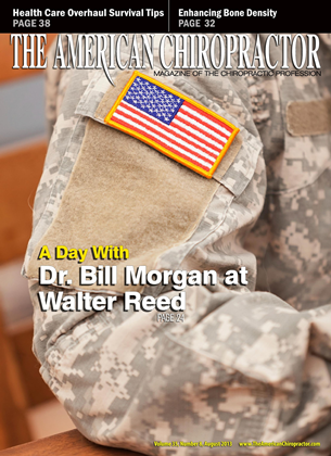 Cover for the August 2013 issue