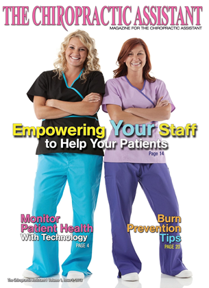 Cover for the The Chiropractic Assistant 2013 issue