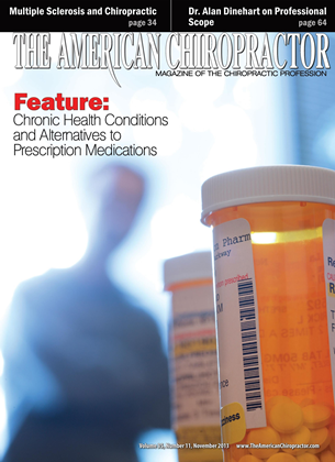 Cover for the November 2013 issue