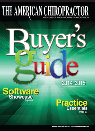Cover for the Buyers Guide 2014 issue