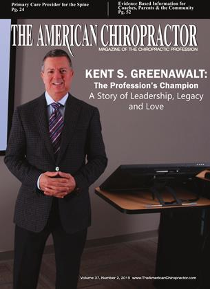 Cover for the February 2015 issue