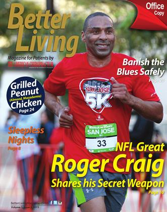 Cover for the Better Living: Spring 2015 issue