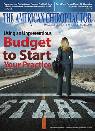 Cover for the March 2016 issue