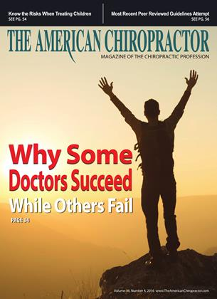 Cover for the April 2016 issue