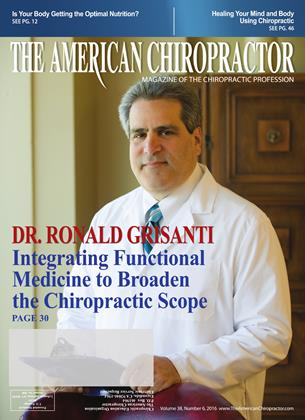Cover for the June 2016 issue