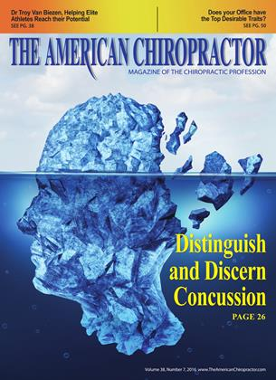Cover for the July 2016 issue