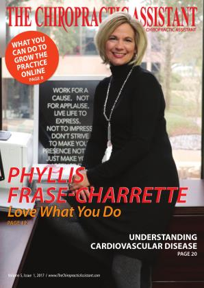 Cover for the THE CHIROPRACTIC ASSISTANT/FEBRUARY 2017 issue