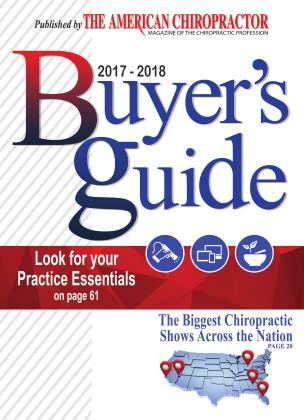 Cover for the 2017-2018 Buyer's guide 2017 issue