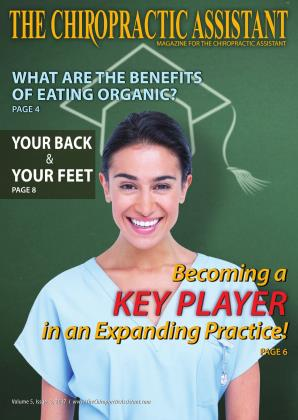 Cover for the The Chiropractic Assistant/June 2017 issue