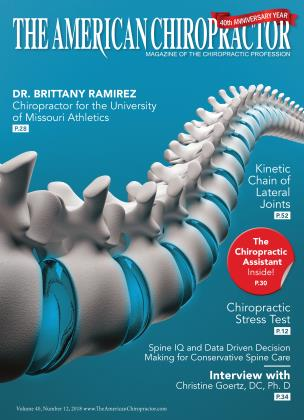 Cover for the December 2018 issue