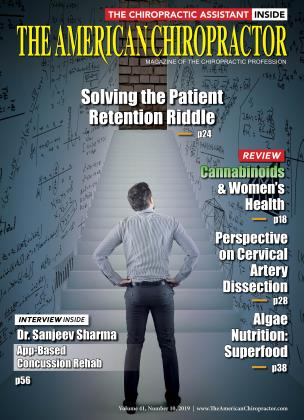 Cover for the OCTOBER 2019 issue