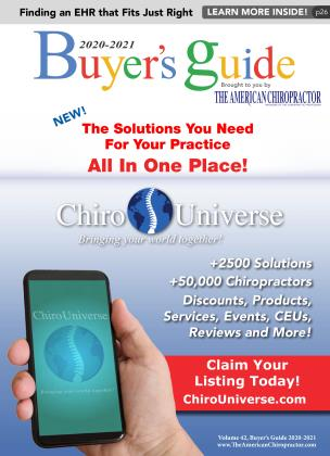 Cover for the Buyer's Guide 2020-2021 2020 issue